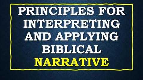 Thumbnail for entry Biblical NarrativewithAudio2.mp4