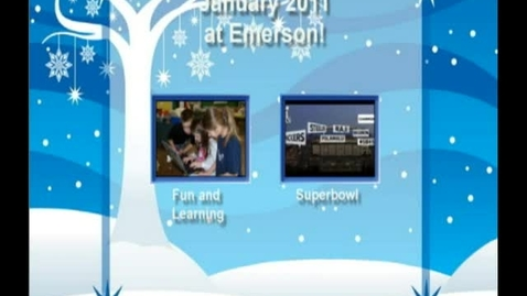 Thumbnail for entry January 2011 at Emerson Elementary