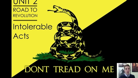Thumbnail for entry Road to Revolution #8 - The Intolerable Acts