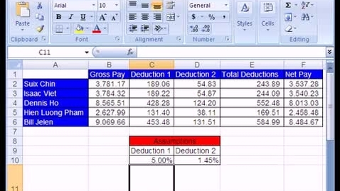 Thumbnail for entry Excel Basics #1: What Is Excel?