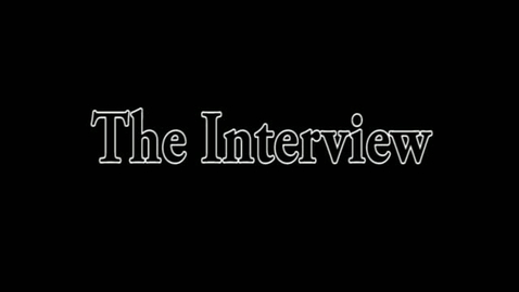 Thumbnail for entry The Interview
