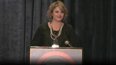 Thumbnail for entry Michelle Owens Hayward of Arkansas NDP award speech