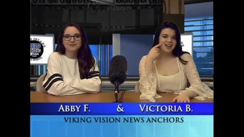Thumbnail for entry Viking Vision News Thur 3-15-2018 #509