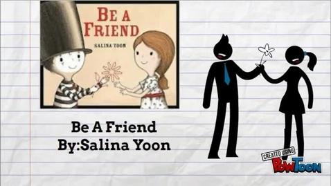 Thumbnail for entry #SISDBookBlitz: Be a Friend Booktalk