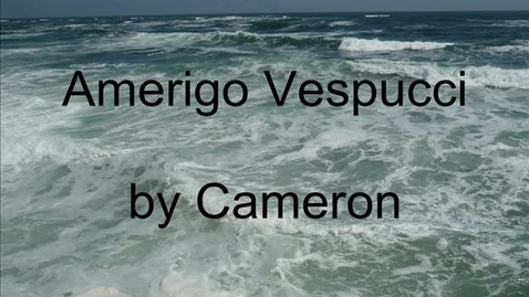 Thumbnail for entry Vespucci by Cameron