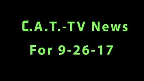 Thumbnail for entry CAT TV Newscast