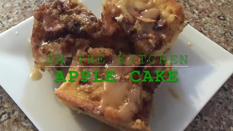 Thumbnail for entry Abbe Pannucci goes in the kitchen to make apple cake