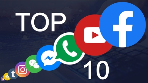 Thumbnail for entry Top 10 Social Media Sites | The Most Popular Social Networking Sites in 2020