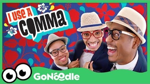 Thumbnail for entry I Use A Comma - Blazer Fresh | GoNoodle