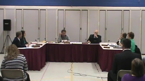 Thumbnail for entry BOE Meeting, 3/17/14 - Part 7