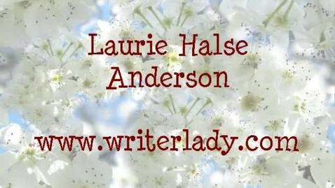 Thumbnail for entry Laurie Halse Anderson