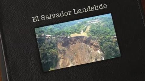Thumbnail for entry El Salvador Landslide 2001
