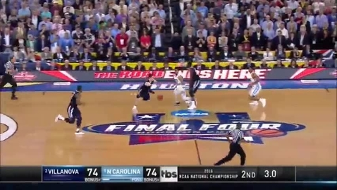 Thumbnail for entry Kris Jenkins stuns fans in final shot