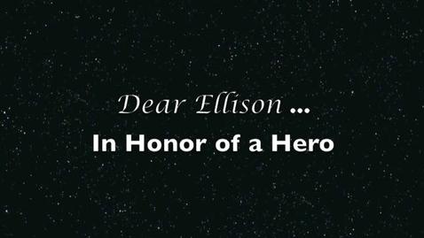 Thumbnail for entry Dear Ellison