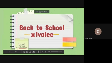 Thumbnail for entry Back to School VIRTUAL Format-Principals Message Post