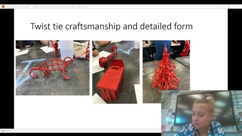 Thumbnail for entry Twist tie craftsmanship and detailed form tips and tricks video