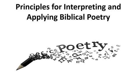 Thumbnail for entry Hermeneutics Video - Poetry.mp4