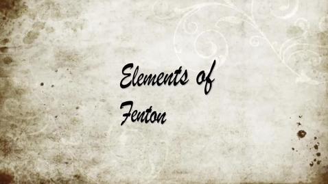 Thumbnail for entry Fenton Film 2014 #1