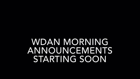 Thumbnail for entry WDAN 4-3-2020