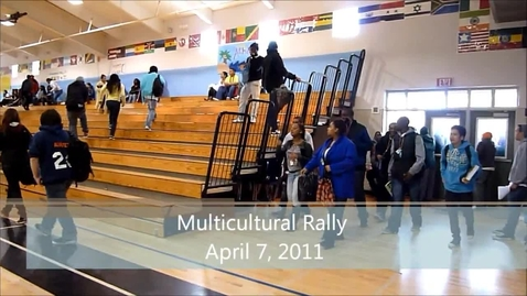 Thumbnail for entry Multicultural Rally 2011 - Highlights