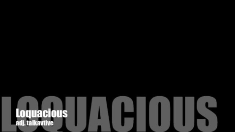 Thumbnail for entry Lquacious--Brainyflix.com Vocab Contest