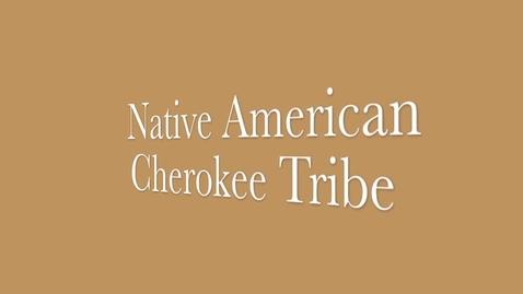 Thumbnail for entry Cherokee Native American Team