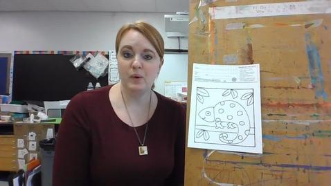 Thumbnail for entry chameleon sharpie and paint brush