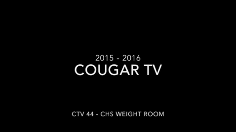 Thumbnail for entry Capital High School 2015 - 2016 Cougar TV Show 44