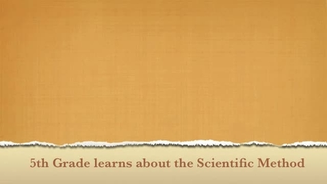 Thumbnail for entry Scientific Method