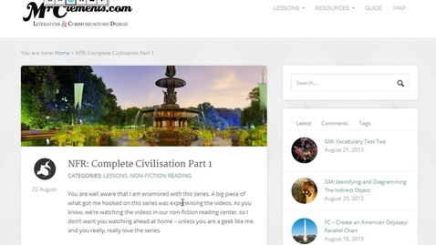 Thumbnail for entry NFR: Complete Civilisation Part 1