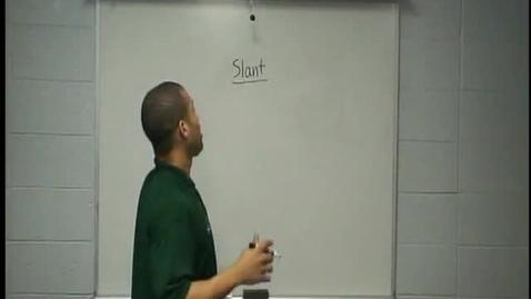 Thumbnail for entry Coach Christopher Bocage Perfect Routes - Slant Route