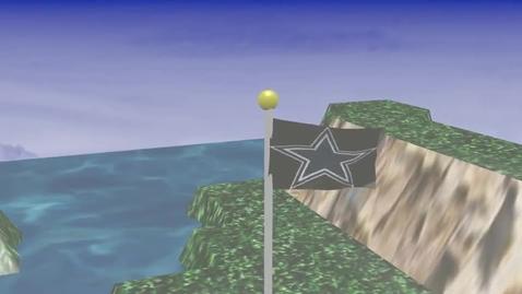 Thumbnail for entry flag swag