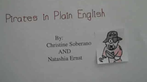 Thumbnail for entry pirates in plain English FINAL