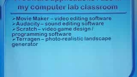 Thumbnail for entry Tech Tools for Teachers Part 4: Freeware Demos