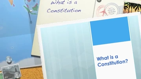 Thumbnail for entry What is a constitution?