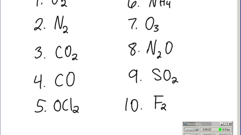 Thumbnail for entry Stephens Chemistry: Continuation of Drawing Lewis structures