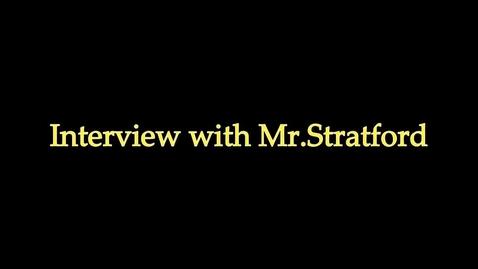 Thumbnail for entry Michael Stratford