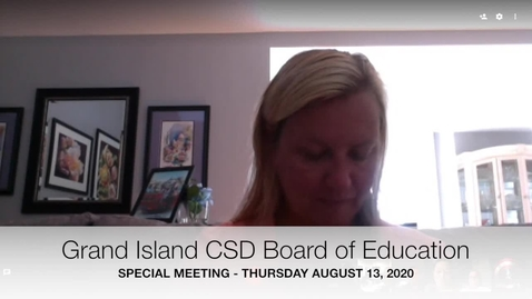 Thumbnail for entry GI Special BOE 8-13-2020 Meeting