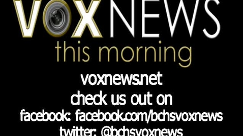 Thumbnail for entry VOX News this Morning for Monday, October 13, 2014