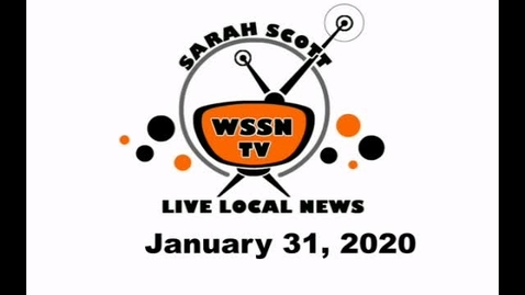 Thumbnail for entry WSSN News Jan 31, 2020