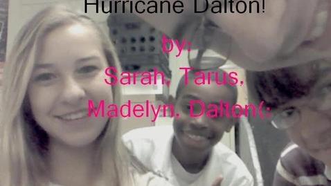 Thumbnail for entry Hurricane Dalton!
