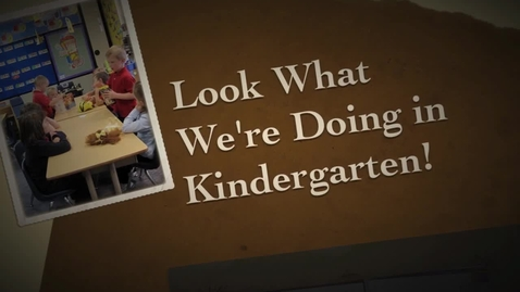 Thumbnail for entry What is happening in Kindergarten at the Catholic Schools of Fairbanks!