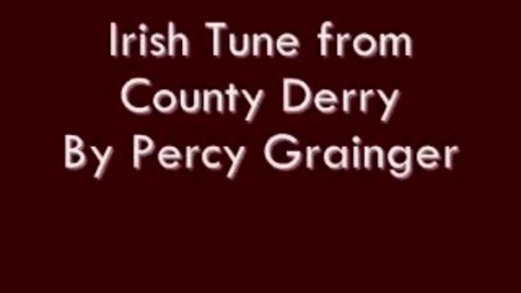 Thumbnail for entry Irish Tune from County Derry