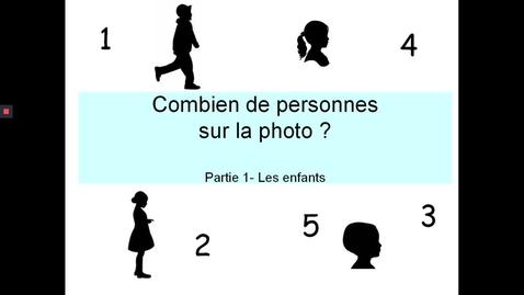 Thumbnail for entry Combien personnes photo - Enfants