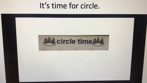 Thumbnail for entry Circle Time/Morning Meeting: July 20, 2020