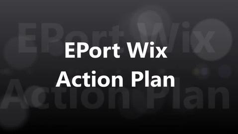 Thumbnail for entry EPort Action Plan 2017