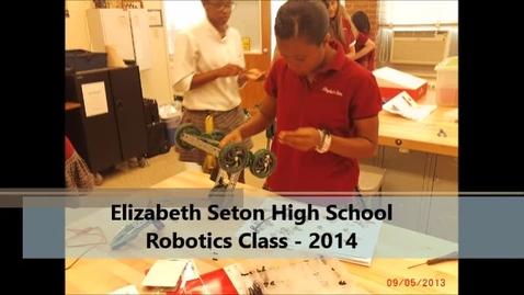 Thumbnail for entry Vex Clawbots Fall 2013 Seton HS
