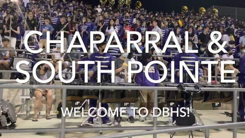 Thumbnail for entry DBHS Marching Band - Middle School Day, 9-10-21