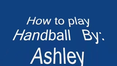 Thumbnail for entry How to be the best handball player