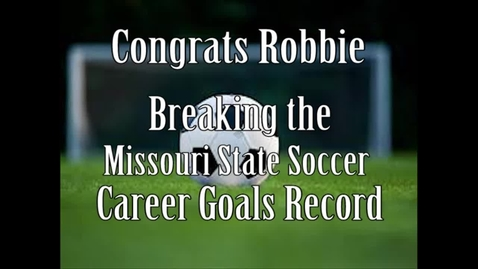 Thumbnail for entry Robbie's Record!